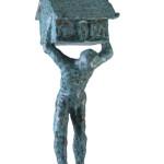 Untitled #3, 2012, bronze, 131 x 40 x 55 cm, $12,000