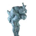 Untitled #6, 2012, bronze, 85 x 66 x 44 cm, $12,000