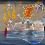 Pebuari, 2013, acrylic on canvas, 115 x 134 cm