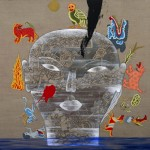 Galunga, 2013, acrylic on canvas, 115 x 134 cm