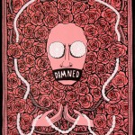 Lucas Grogan, Damned, 2012, ink and acrylic on archival board, 51 x 40cm $1,600