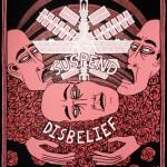 Lucas Grogan, Suspend Disbelief, 2012, ink and acrylic on archival board, 51 x 40cm $1,600