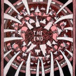 Lucas Grogan, The End, 2012, ink and acrylic on archival board, 51 x 40cm $1,600