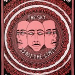Lucas Grogan, The Sky is not the Limit, 2012, ink and acrylic on archival board, 51 x 40cm $1,600