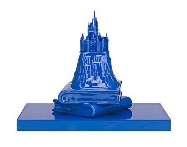 Michael Doolan, Prince's Castle, ceramic, wood and auto enamel, 31 x 40 x 25 cm, $5,800