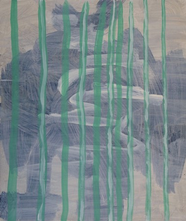 Joseph Daws, Untitled 30 (2012), oil on board, 48 x 40 cm