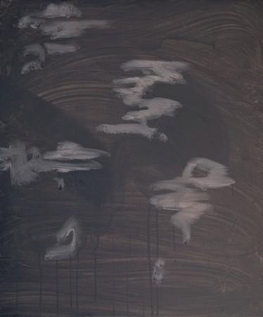 Joseph Daws, Untitled 29 (2012), oil on board, 48 x 40 cm