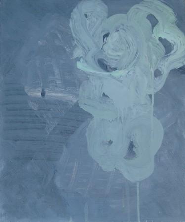 Joseph Daws, Untitled 28 (2012), oil on board, 48 x 40 cm