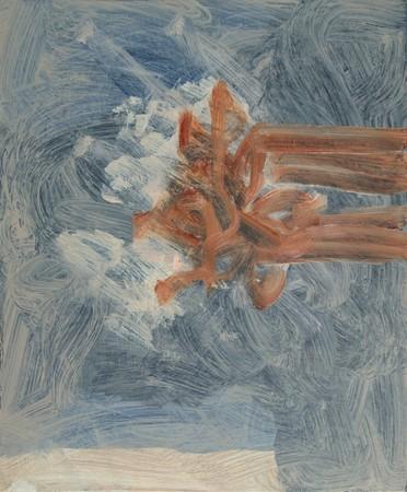 Joseph Daws, Untitled 25 (2012), oil on board, 48 x 40 cm