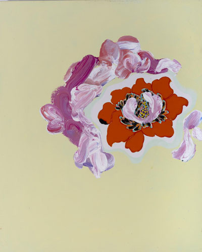 Daniel Mafe, Grandiflora IV, 2012, acrylic on canvas, 75 x 60 cm