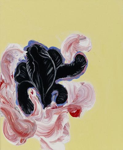 Daniel Mafe, Grandiflora X, acrylic on canvas, 30 x 25 cm