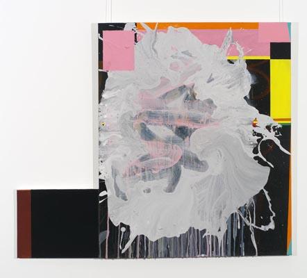 Daniel Mafe, Untitled #3, acrylic on canvas, 87 x 71cm