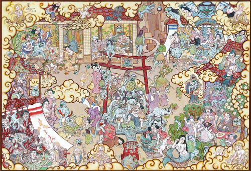 Shin Koyama, Kappa Inn, oil on canvas, 145 x 170 cm, $15,000