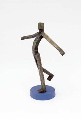 Stephen Hart, Free as a Bird (cast 2010), bronze on plinth, 58 x 55 x 35cm, editioned