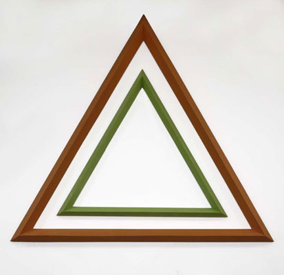 Stephen Hart, Infinite Possibility (2010), carved and polychromed timber, 240 x 240 x 240 cm