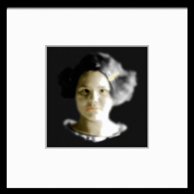 Kim Demuth, Josephine (2010), mixed media photographic sculpture, 50 x 50 x 4cm
