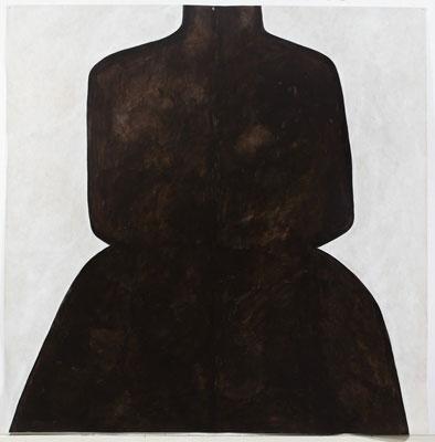 Judith Wright, Desire #8 (2010), acrylic on Japanese paper, 200 x 200cm