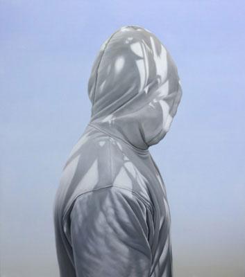 Juan Ford, The Shaman (2009), oil on linen, 122 x 107cm