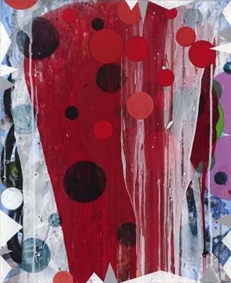 Daniel Mafe, Untitled #10 (2008), acrylic on canvas, 56 x 45cm