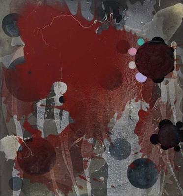 Daniel Mafe, Untitled #12 (2008), acrylic on canvas, 66 x 60cm
