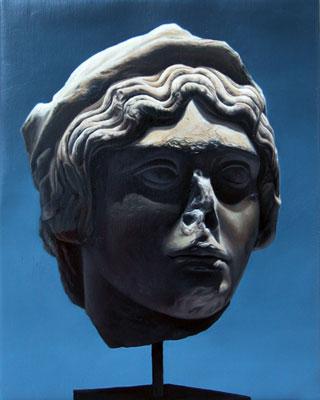 Juan Ford, Husk #4 (2006), oil on linen, 34 x 27cm