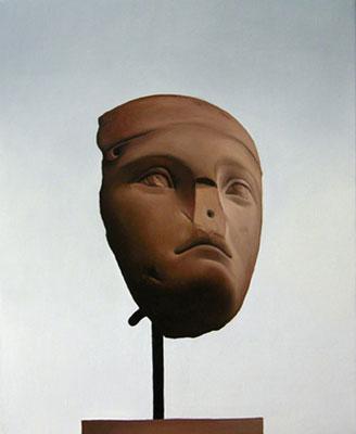 Juan Ford, Husk #11 (2006), oil on linen, 23 x 28cm