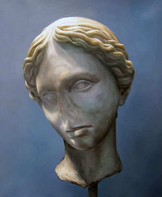 Juan Ford, Husk #1 (2006), oil on linen, 23 x 21.5cm