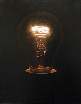 Juan Ford, Beacon #5 (2006), oil on linen, 45 x 35cm