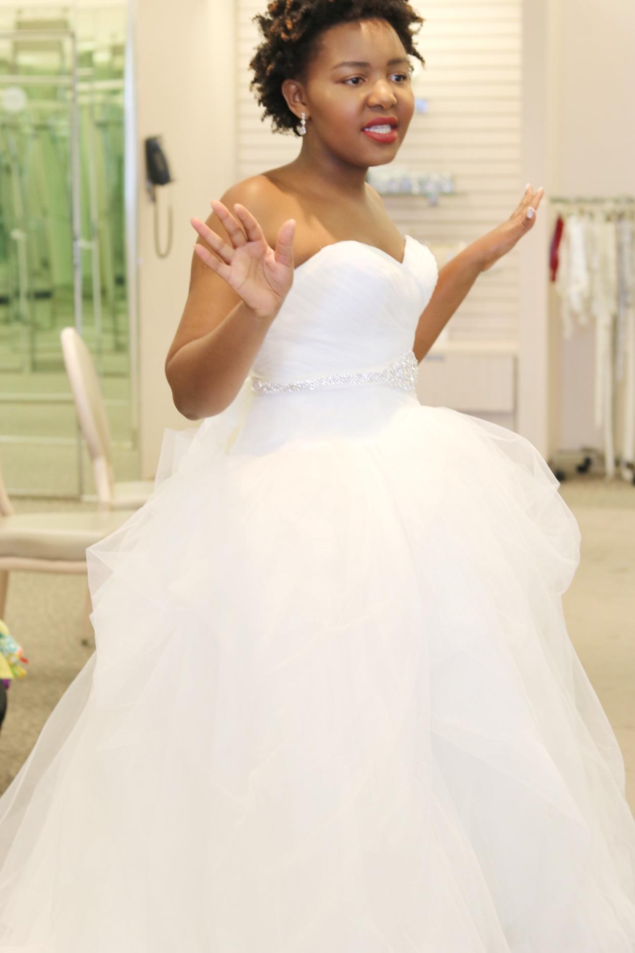 Ball Gown Dress David's Bridal