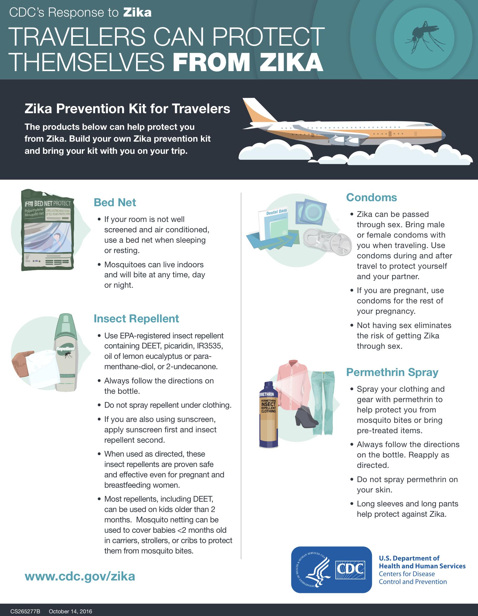 Zika Prevention Kit for Travelers