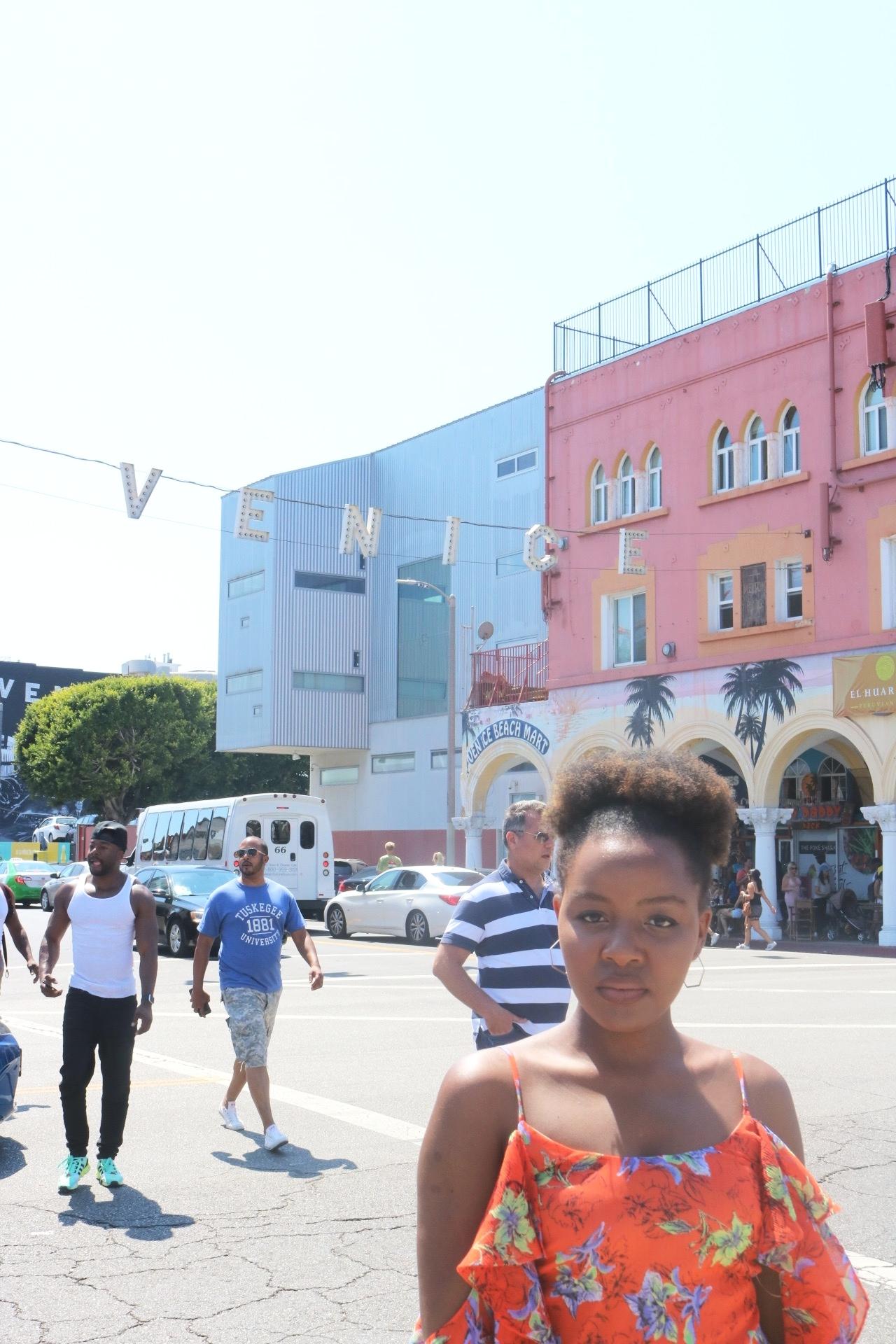 Nonee in Venice Beach