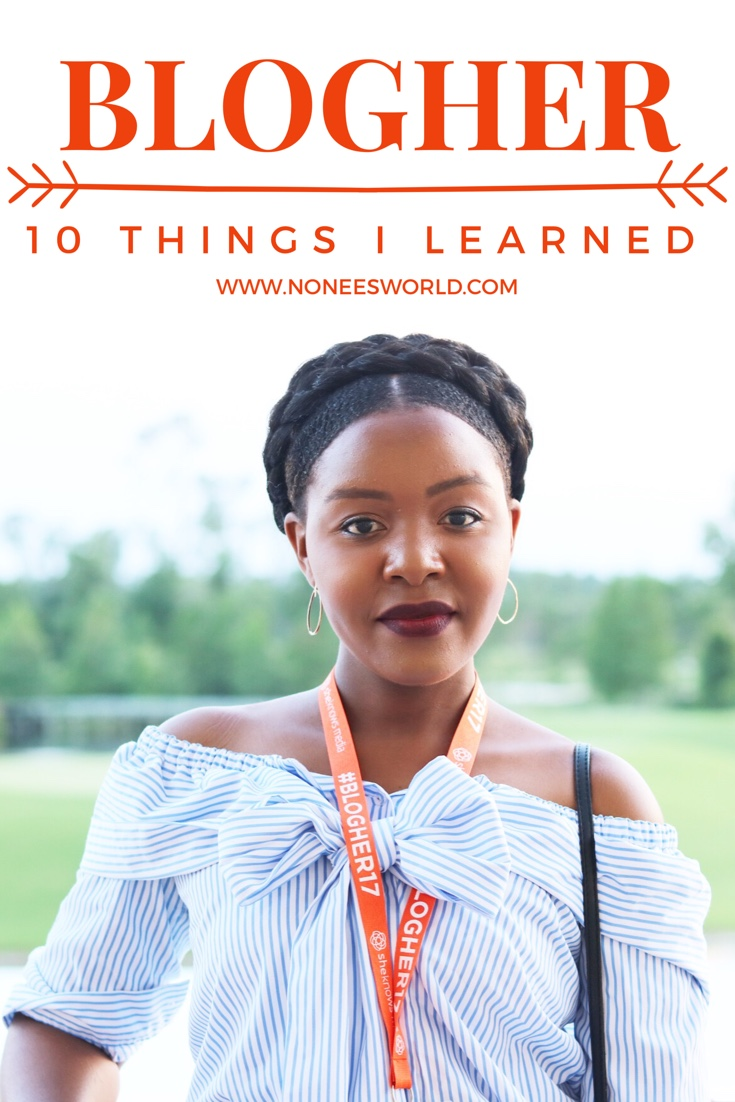 10 Things I learned at BlogHer