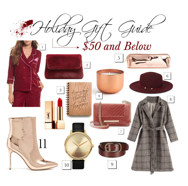 Holiday Gift Guide: Gifts for Her Under $50
