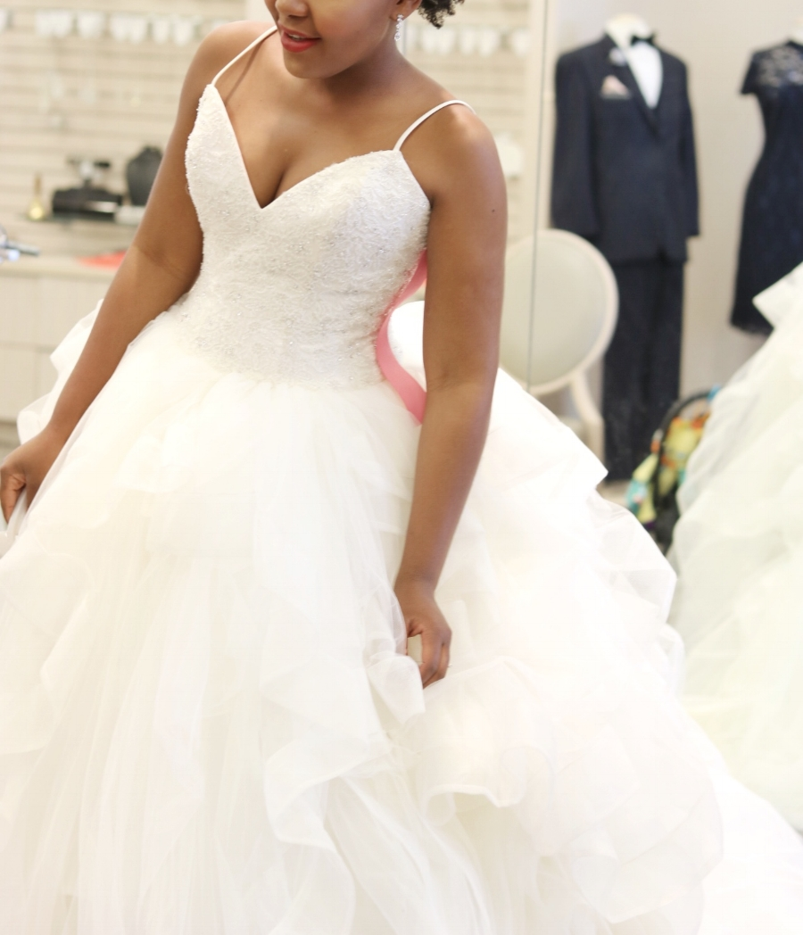 Vera Wang Gown David's Bridal