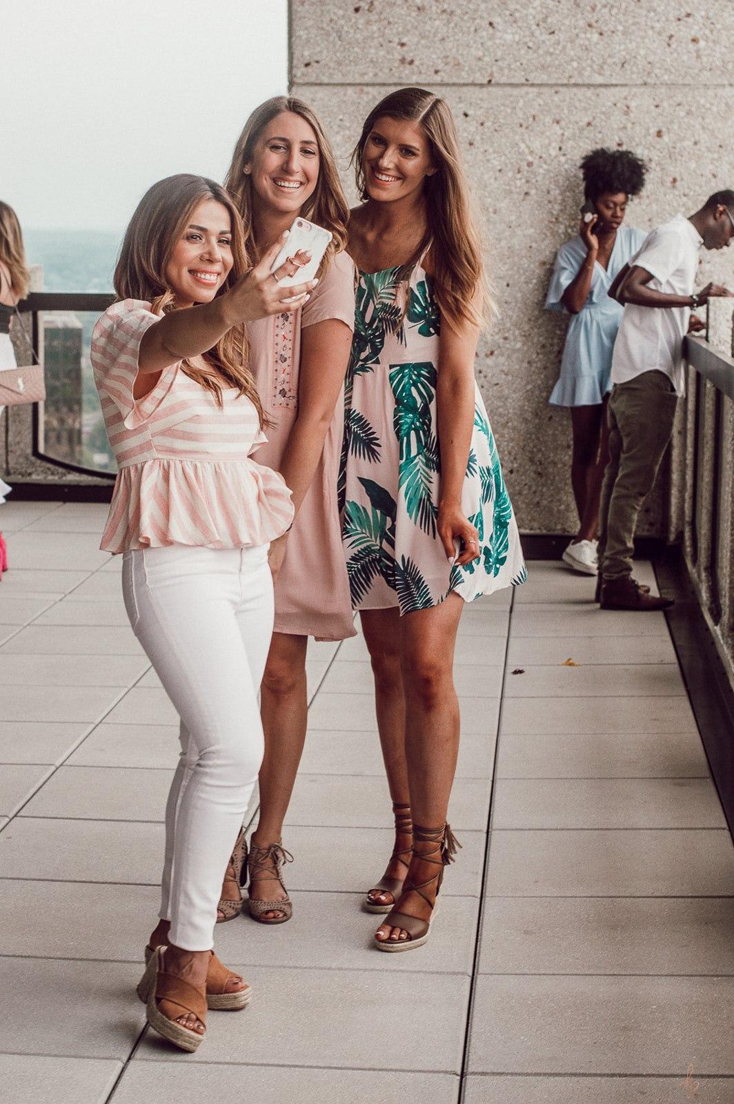 Ilse, Jenna, and Sarah
