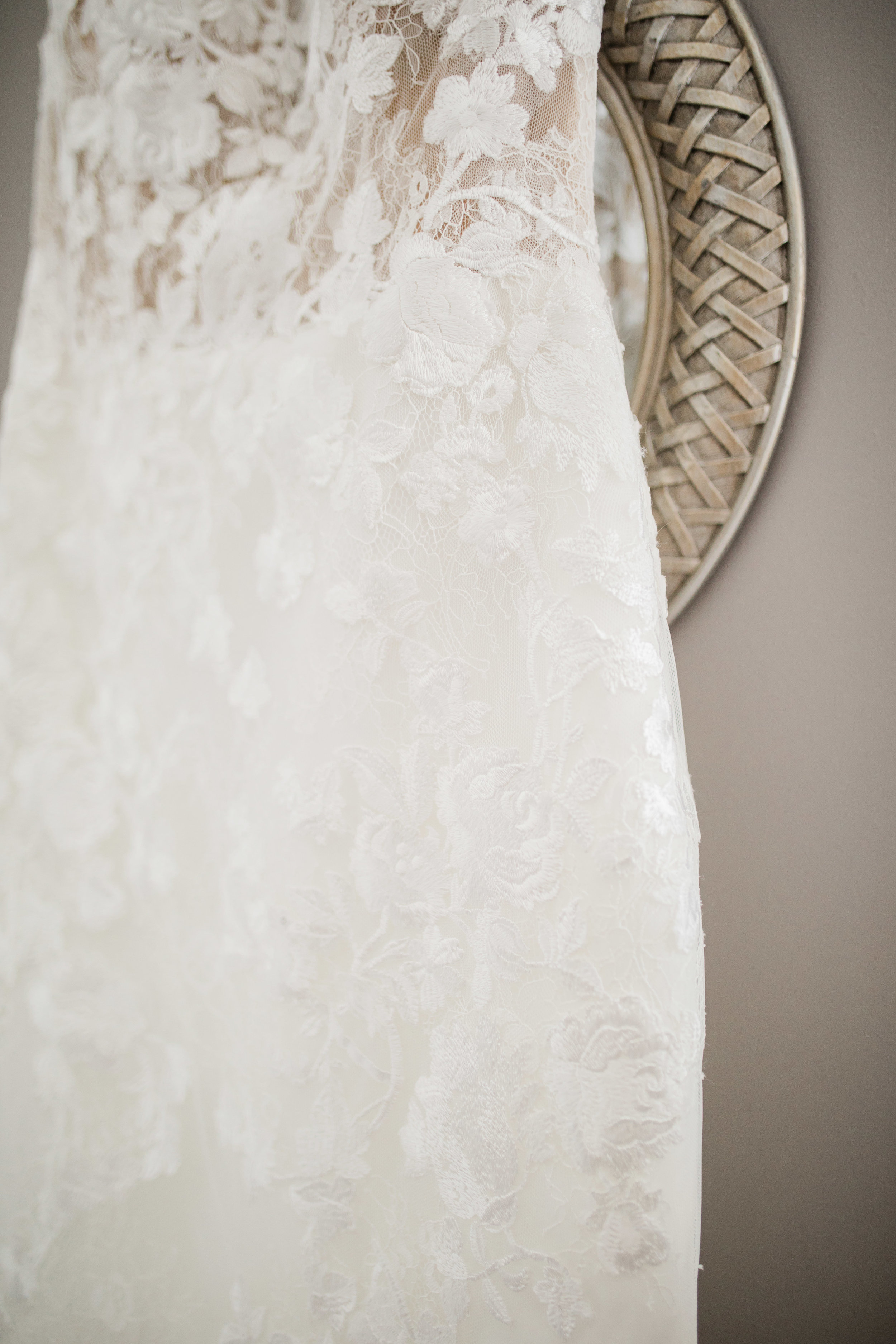 Pronovias Gown Details at Everthine bridal