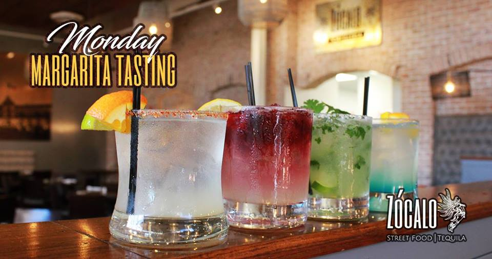 4 Margaritas and 4 Food Pairings for just $20  Let our bartender mix 4 awesome Margaritas to sample and pair them with 4 delicious Mexican bites 😋