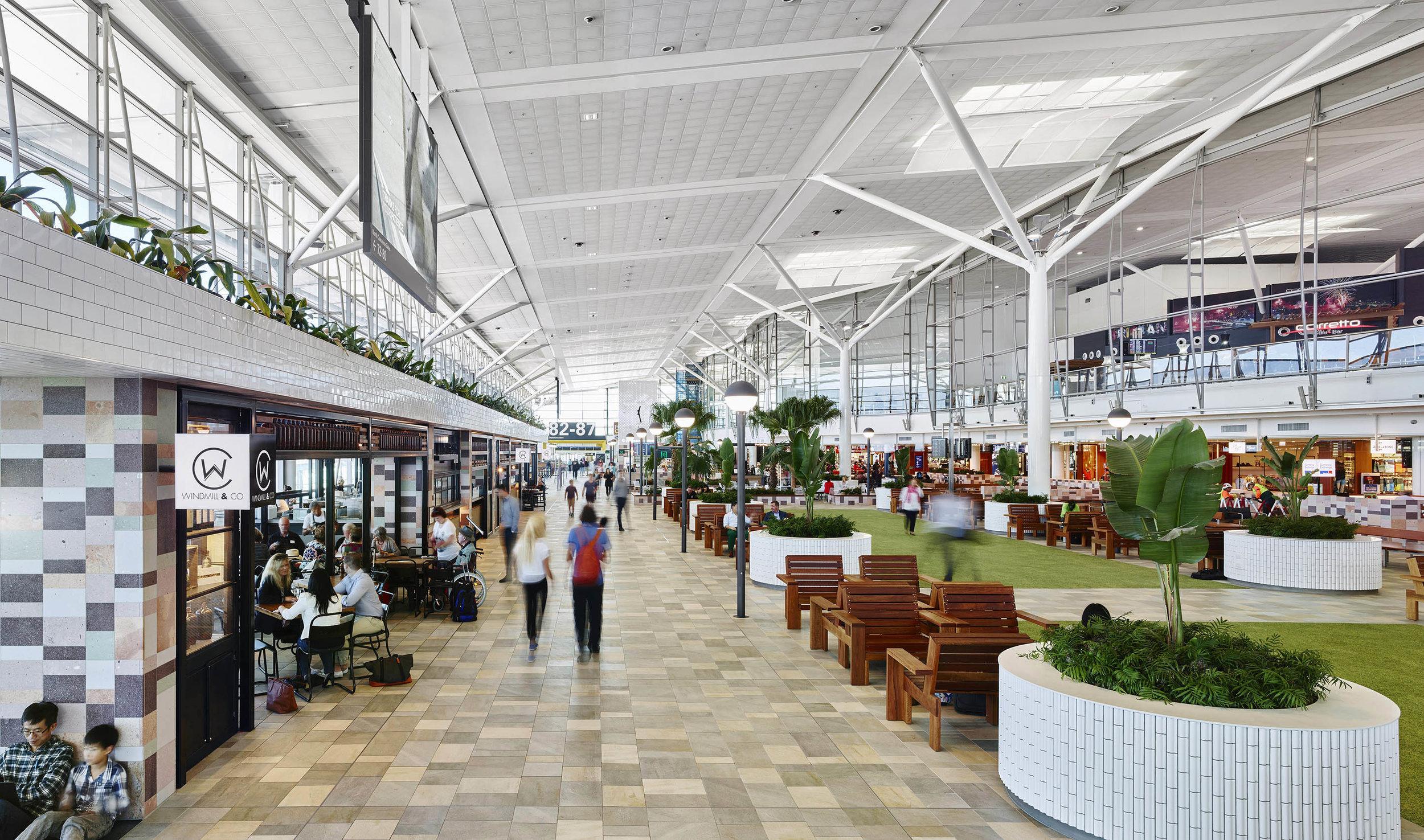 Brisbane International Terminal Retail Upgrade