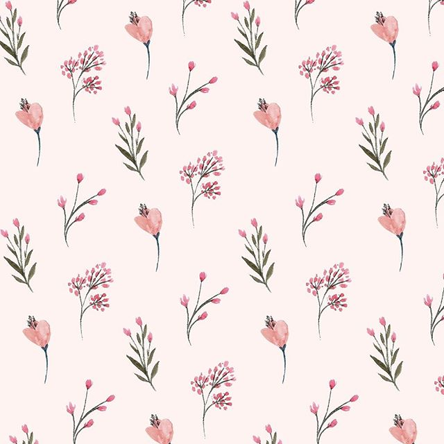 🌺🌸🌺🌸 We really need some cuter flowers emojis 💁🏼‍♀️ Swipe for lilac, one of my favourite colours right now! - - -  #printdesigner #patterndesigner #printandpattern #textilestudio #surfacepatterncommunity #patternlove  #floraldesign #floralprint #floralart #printedtextiles #colourpalette #colourcrush #colourinspo #ihavethisthingwithcolor #makeitindesign #patternoftheday #patternlove #ditsy #lilac #pantone2018