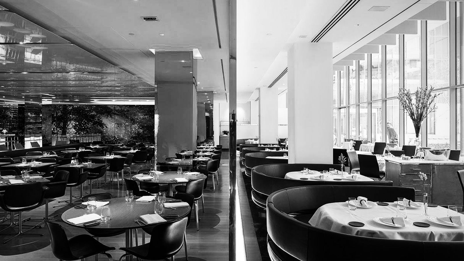 Danny Meyer's The Modern, where tipping has been retired.