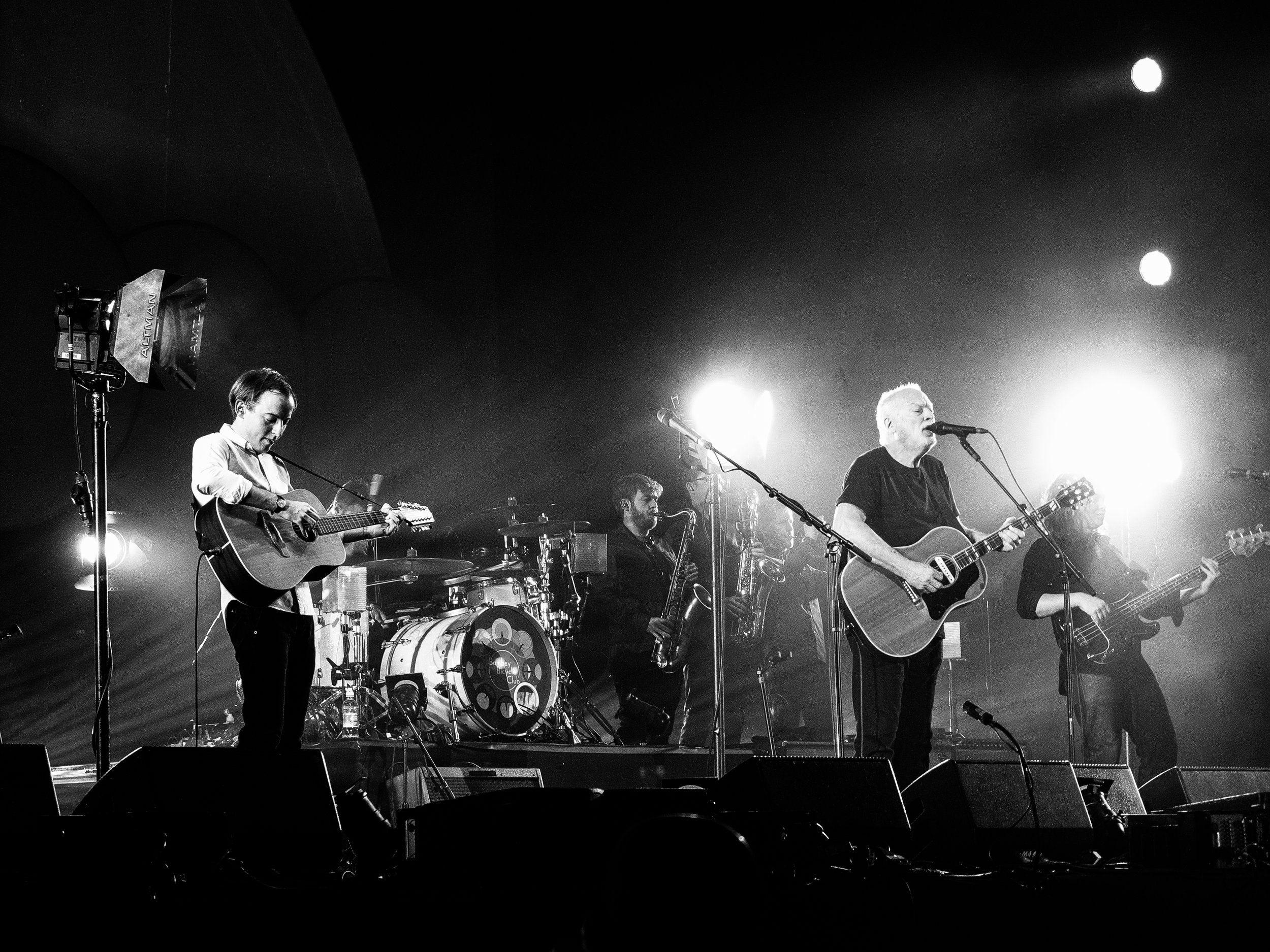 Bombay Bicycle Club with David Gilmour , London Earls Court
