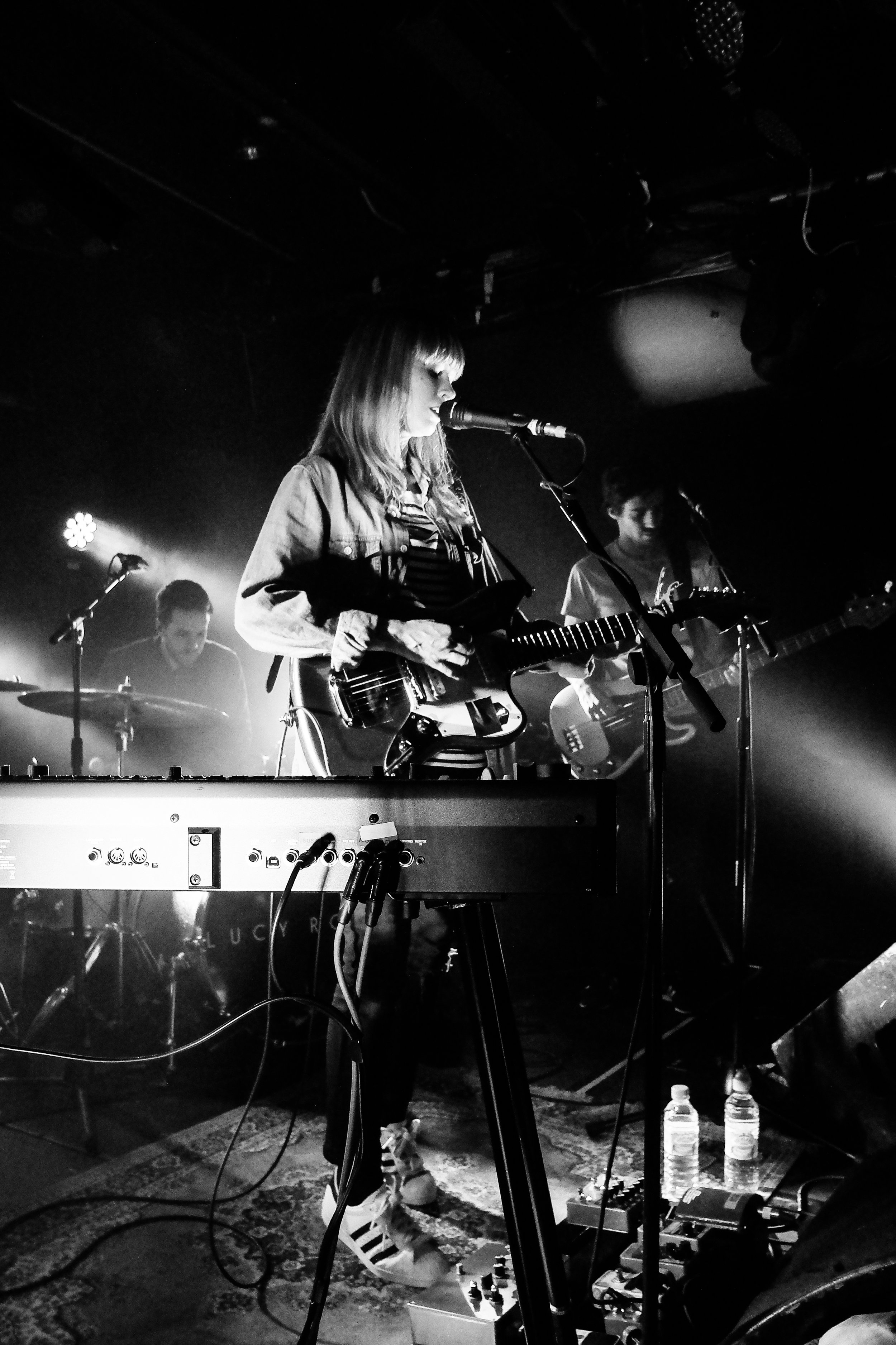 Lucy Rose , Courty Cord, London