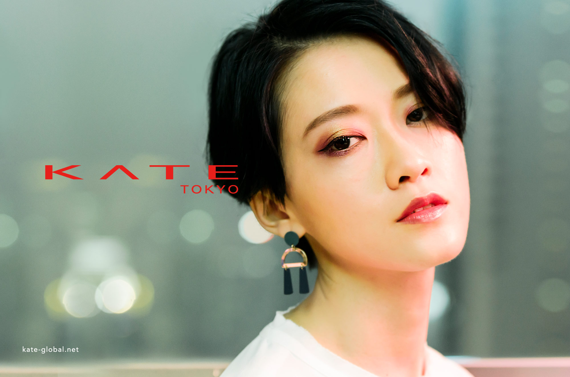 "Kate Tokyo Unleash ""Frame Create"" Eyes Shadows  with Fish Liew."
