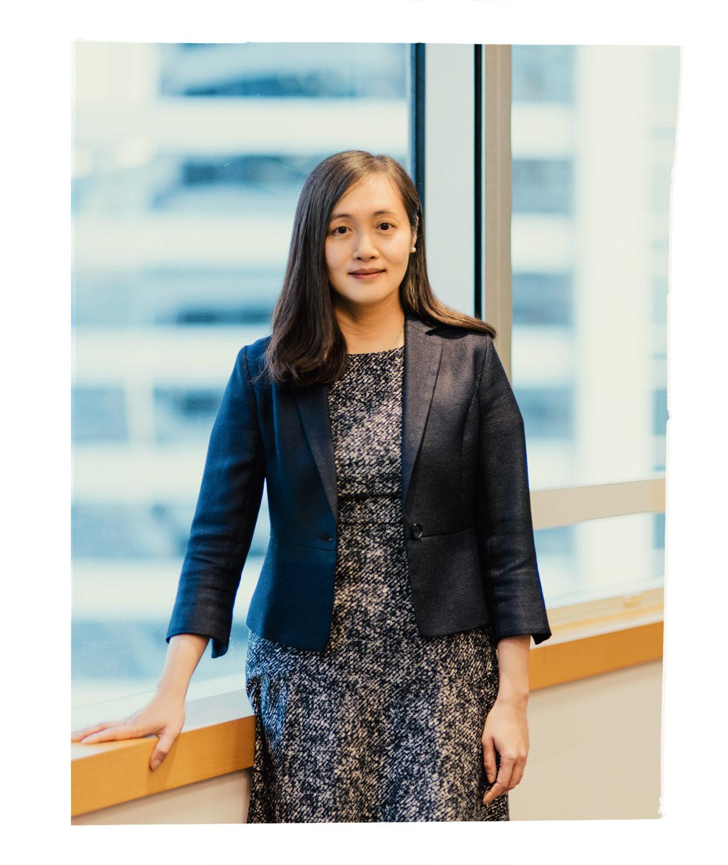 Jing Ning, in der Hong Kong Zentrale von Fidelity, von wo aus sie den China Focus Fund verwaltet