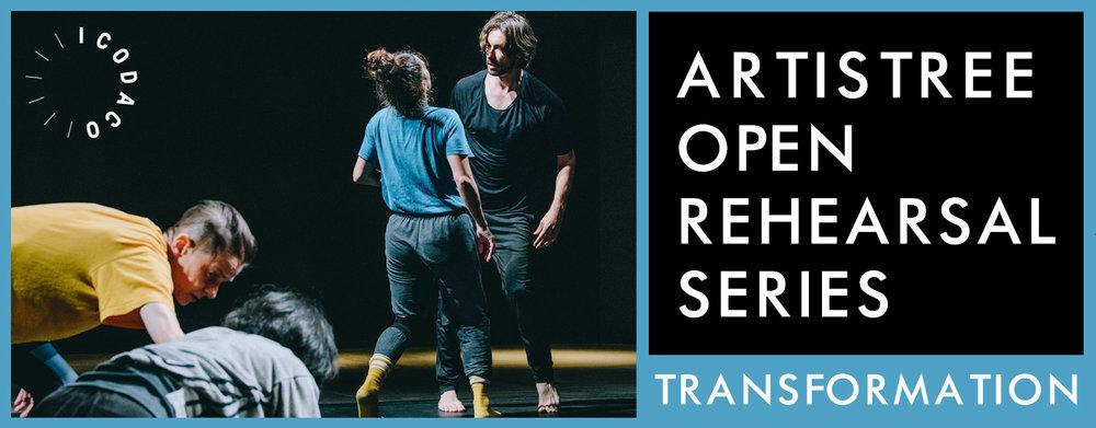 iCoDaCo : Transformation / Open Rehearsals Series  ArtistreeHK / Open Rehearsals Series - Have a Bite of Inspiration Swire Properties Art