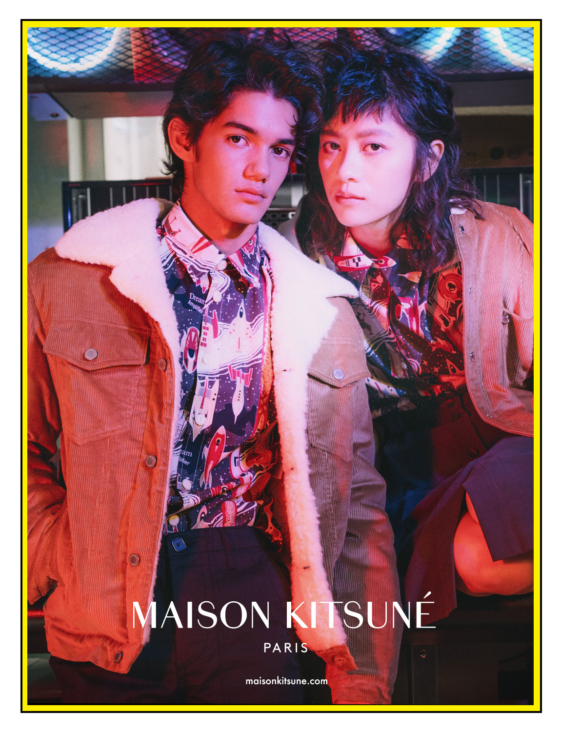 Maison Kitsune  Dream amplifier Pairs, France