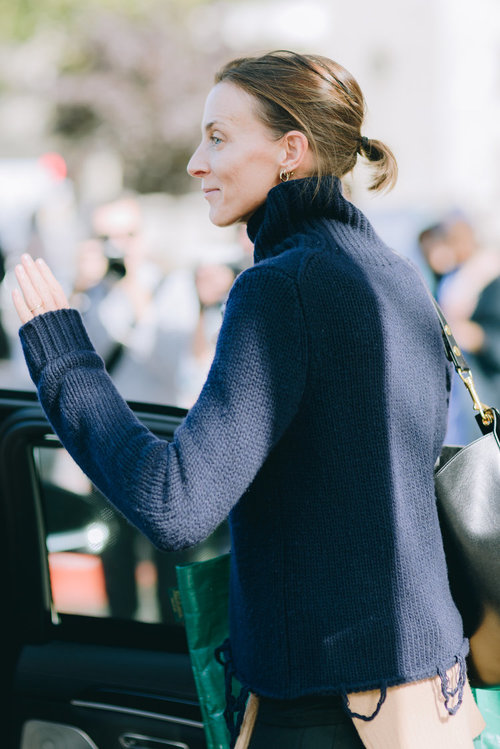 Fashion Week / Conversations and Dialogues Phoebe Philo , Paris France