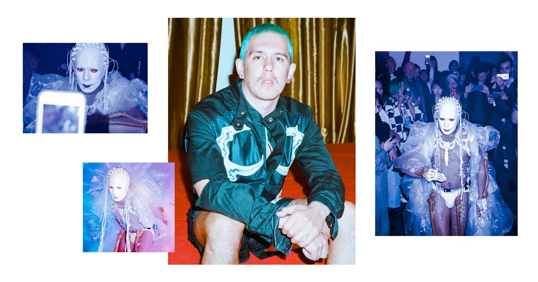 Justin Shoulder Performance Artist Sydney, Australia
