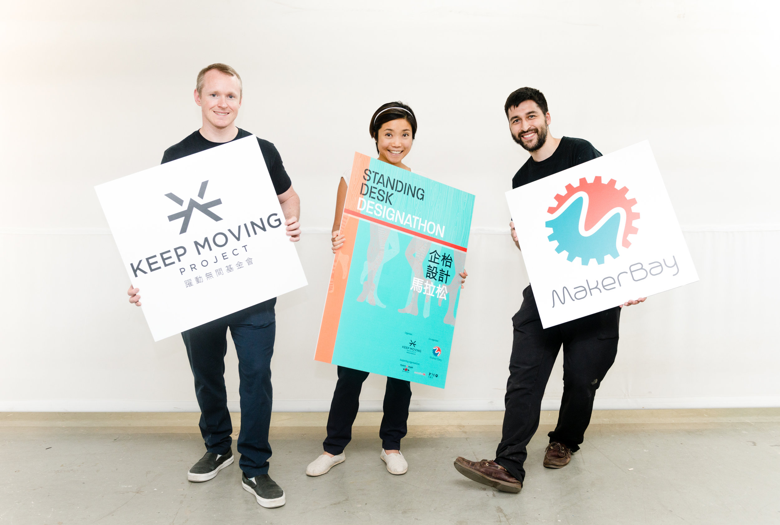 Co-Founder & Managing Director / Cris O'Brien (Left) , Co-Founder & Managing Director Vanessa o'brien / Maker Bay Director Corporation / Cesar Jung Harada ( Right )