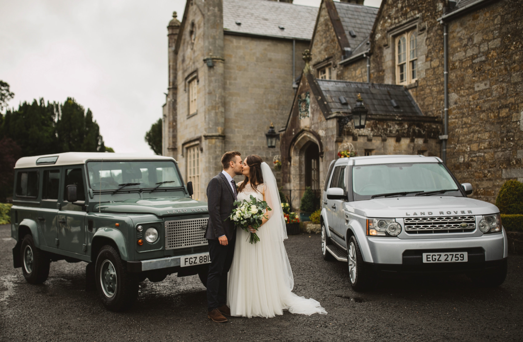 Travel in style - Well, it would be rude not to. Did we mention that we can help you and your party travel in style on your wedding day. With 5 packages to choose from we're confident you'll find the one that works for you.